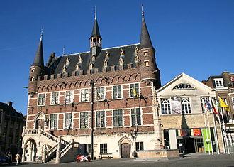 Geraardsbergen - Image: 0 Grammont Hôtel de ville et musée