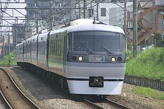 Seibu Shinjuku Line - A Seibu Shinjuku Line 10000 series EMU on a Koedo limited express service in July 2007