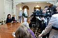 11.Saeimas priekšsēdētājas Solvitas Āboltiņas preses konference (6256960518).jpg