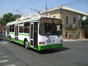 Astrakhan - LiAZ-5280 trolleybus