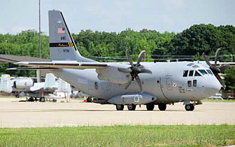 135th Airlift Squadron - 135th Airlift Squadron - C-27J Spartan