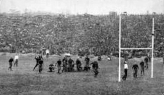 1913 college football season - Harvard defeating Princeton