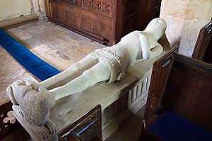 Ralph Cheyne - Image: 14th Century Effigy Poyntington Church Somerset