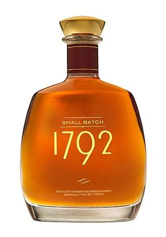 1792 Bourbon - 1792 Bourbon bottle