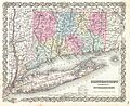 1855 Colton Map of Connecticut and Long Island - Geographicus - ConnecticutLongIsland-colton-1855.jpg