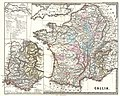 1865 Spruner Map of France or Gallia in Roman Times - Geographicus - Gallia-spruner-1865.jpg