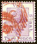 1883 Twee p OVS red ovals Mi11 SG49.jpg
