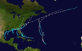 1885 Atlantic hurricane season hurricane season in the Atlantic Ocean