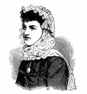 Fascinator - 1885 crochet fascinator