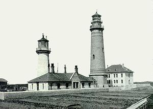 Heligoland lighthouse