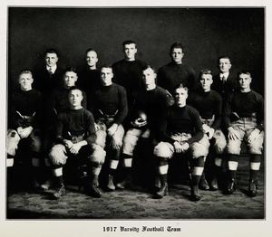 Thomas A. McCann - 1917 Maine Black Bears varsity football team, coached by Thomas McCann