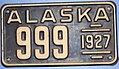1927 Alaska Passenger License Plate.jpg