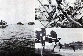 1928 Okeechobee hurricane - Damage from the hurricane
