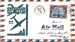 1930 - Allentown Air Meet Commemorative Cover (Green) - Allentown PA.jpg