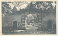 1930 postcard of Slovenska Bistrica Castle gates.jpg