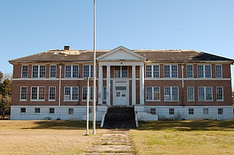 National Register of Historic Places listings in East Feliciana Parish, Louisiana - Image: 1938Clinton School