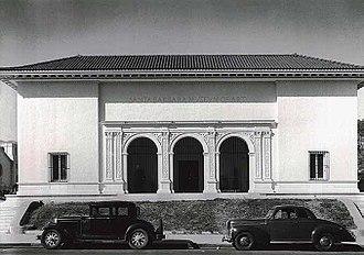 Santa Barbara Museum of Art - Santa Barbara Museum of Art, ca. 1941. Santa Barbara Museum of Art Archives.
