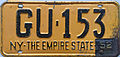1952 New York license plate.JPG