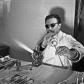 1958 Maitre verrier au CNRZ-4-cliche Jean Joseph Weber.jpg
