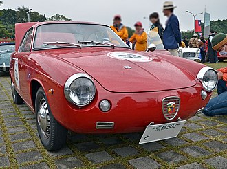 Fiat-Abarth 750 - 1961 Abarth 850 Allemano coupé
