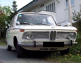 Fritz Fiedler - Image: 1966 BMW1800