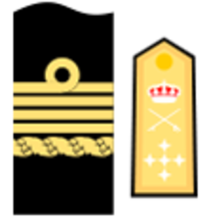 Captain general of the Navy - Insignia for the Captain general of the Spanish Navy