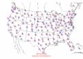 2002-10-04 Max-min Temperature Map NOAA.png