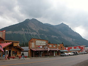 Cooke City-Silver Gate, Montana - Image: 2003 08 17 Miners Saloon in Cooke City, Montana
