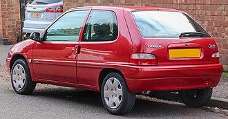 Citroën Saxo - Citroën Saxo facelift