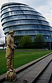 2005-04-09 - United Kingdom - England - London - City Hall and a Golden Man - Miscellenaeous 4887189539.jpg