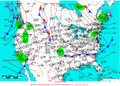 2006-05-22 Surface Weather Map NOAA.png