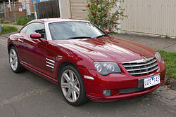 2006 Chrysler Crossfire (ZH MY05) coupe (2015-11-11) 01.jpg
