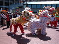 2008 Olympic Torch Relay in SF - Lion dance 50.JPG