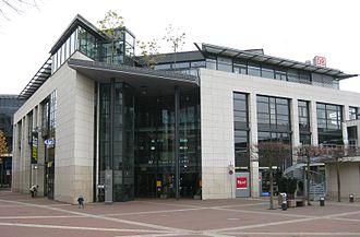 Siegburg/Bonn station - Image: 2009 11 01 Bahnhofsgebaeude Siegburg