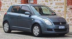 2010 Suzuki Swift (RS415) 5-door hatchback (2018-11-02).jpg