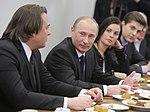 2011-02-03 Владимир Путин с коллективом Первого канала (16).jpeg