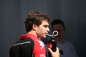 Jérôme d'Ambrosio - D'Ambrosio at the 2011 Spanish Grand Prix.