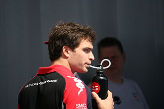 Jérôme d'Ambrosio - D'Ambrosio at the 2011 Spanish Grand Prix.