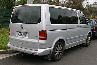 Volkswagen Transporter (T5) - Multivan facelift (2010–2015)