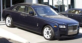 Rolls-Royce Ghost - Image: 2012 RR Ghost