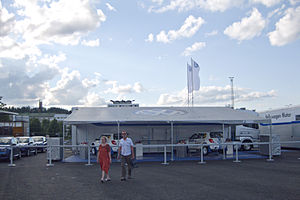2012 Rally Finland tuesday preparations 03.jpg