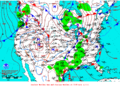 2013-01-09 Surface Weather Map NOAA.png