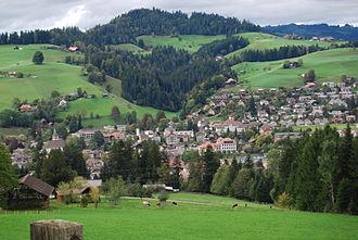 Langnau im Emmental - Langnau village