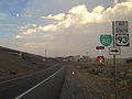 2014-06-10 19 50 00 View down the Exit 410 ramp from eastbound Interstate 80 in West Wendover, Nevada.JPG