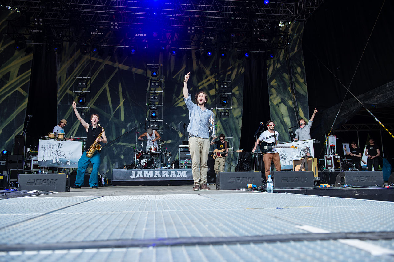 Jamaram beim Ruhr Reggae Summer 2014