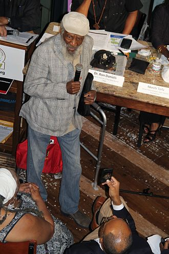 Dick Gregory - Image: 2014 Ferguson and Beyond Rally 31