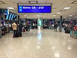 2015-04-13 23 46 11 View the outer end of Concourse C at Salt Lake City International Airport, Utah.jpg
