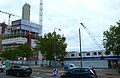 2015 London-Woolwich, Cannon Square - Crossrail development 03.JPG