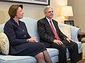 2016-03-22 Senator Amy Klobuchar meets with Merrick Garland 09 (cropped).jpg