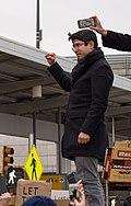 2017-01-28 - Carlos Menchaca at the protest at JFK (80836).jpg